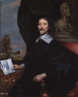 Probably Sir Thomas Aylesbury, Bt, by William Dobson - NPG 615