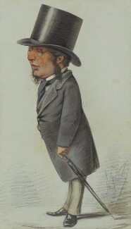 Acton Smee Ayrton, by Carlo Pellegrini, published in Vanity Fair 23 October 1869 - NPG 4713 - © National Portrait Gallery, London