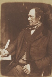 James Aytoun, by David Octavius Hill, and  Robert Adamson - NPG P6(36)