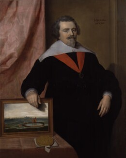 Sir John Backhouse, by 'VM' - NPG 2183