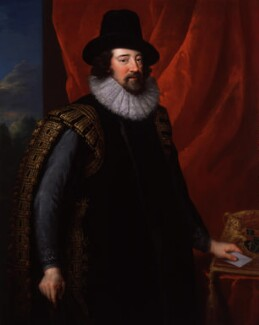Francis Bacon, 1st Viscount St Alban, by John Vanderbank, after  Unknown artist, 1731, based on a work of circa 1618 - NPG 1904 - © National Portrait Gallery, London