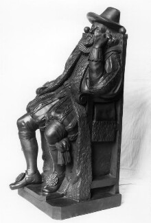 Francis Bacon, 1st Viscount St Alban, by Elkington & Co, cast by  Domenico Brucciani, after  Unknown artist - NPG 408
