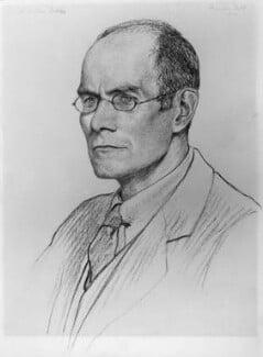 Charles Henry Collins Baker, by Francis Dodd - NPG 4355