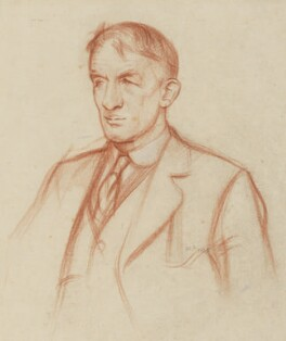Sir Herbert Baker, by William Rothenstein - NPG 4763