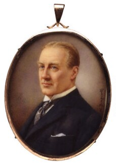 Stanley Baldwin, 1st Earl Baldwin, by Winifred Cécile Dongworth, exhibited 1925 - NPG  - © National Portrait Gallery, London