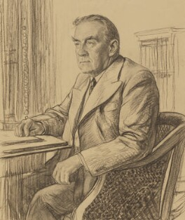 Stanley Baldwin, by Francis Dodd - NPG 4425