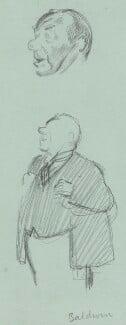 Stanley Baldwin, 1st Earl Baldwin, by Sir David Low, 1933 or before - NPG 4529(12) - © Solo Syndication Ltd