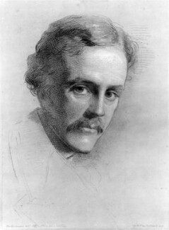 Arthur James Balfour, 1st Earl of Balfour, by George Richmond - NPG 4987