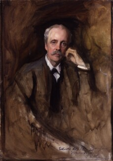 Arthur James Balfour, 1st Earl of Balfour, by Philip Alexius de László,  - NPG 2497 - © National Portrait Gallery, London
