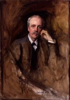 Arthur James Balfour, 1st Earl of Balfour, by Philip Alexius de László,  - NPG 2497 - © National Portrait Gallery, London