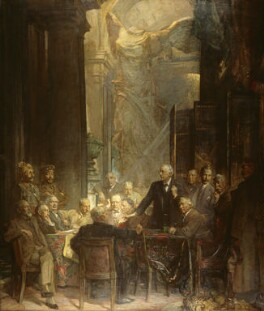 Statesmen of World War I, by Sir James Guthrie - NPG 2463