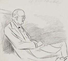 Arthur James Balfour, 1st Earl of Balfour, by Sir Francis Carruthers Gould ('F.C.G.') - NPG 2864a