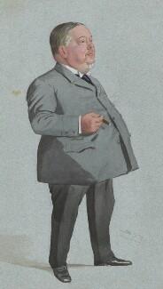 Jabez Spencer Balfour, by Sir Leslie Ward - NPG 4606