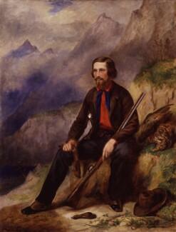 Robert Michael Ballantyne, by John Ballantyne, circa 1855 - NPG 4128 - © National Portrait Gallery, London