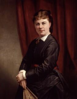 Marie Effie (née Wilton), Lady Bancroft, by Thomas Jones Barker - NPG 2122