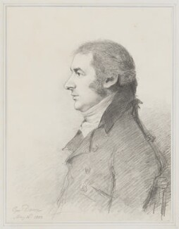 John Bannister, by George Dance - NPG 1136