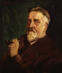 Sir Granville Bantock, by George Herbert Buckingham Holland - NPG 4457