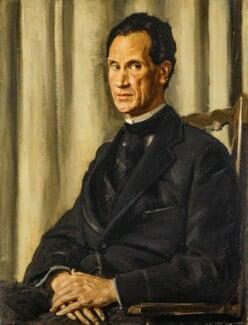 Sir Herbert Atkinson Barker, by Augustus John - NPG 4189