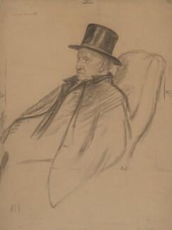 Samuel Augustus Barnett, by Francis Dodd - NPG 4419