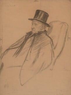 Samuel Augustus Barnett, by Francis Dodd, circa 1907 -NPG 4419 - © National Portrait Gallery, London