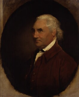 Isaac Barré, by Gilbert Stuart - NPG 1191