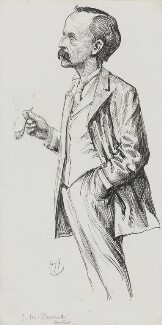 J.M. Barrie, by Harry Furniss - NPG 3420