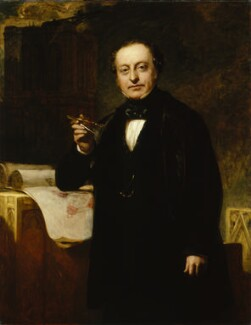 Sir Charles Barry, by John Prescott Knight, circa 1851 - NPG 1272 - © National Portrait Gallery, London
