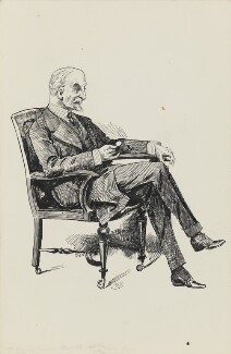 Sir (Dunbar) Plunket Barton, 1st Bt, by Harry Furniss - NPG 3421