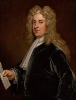 William Pulteney, 1st Earl of Bath, by Sir Godfrey Kneller, Bt, 1717 - NPG 3194 - © National Portrait Gallery, London
