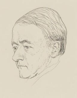 Sir Arnold Bax, by Powys Evans - NPG 4400