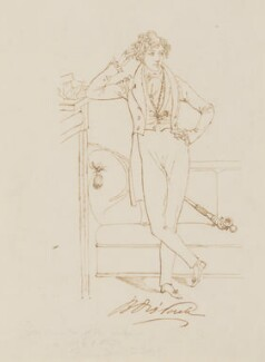 Benjamin Disraeli, Earl of Beaconsfield, by or after Daniel Maclise - NPG 3093