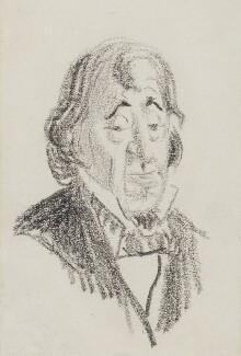 Benjamin Disraeli, Earl of Beaconsfield, by Randolph Caldecott - NPG 3031