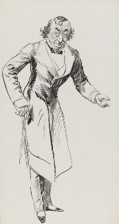 Benjamin Disraeli, Earl of Beaconsfield, by Harry Furniss - NPG 3340