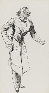 Benjamin Disraeli, Earl of Beaconsfield, by Harry Furniss, 1880s-1900s - NPG 3340 - © National Portrait Gallery, London