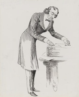 Benjamin Disraeli, Earl of Beaconsfield, by Harry Furniss - NPG 3341