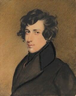 Unknown man, formerly known as Benjamin Disraeli, Earl of Beaconsfield, by Charles Richard Bone - NPG 4503