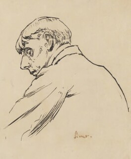 Aubrey Beardsley, by Walter Sickert, circa 1894 -NPG 1967 - © National Portrait Gallery, London