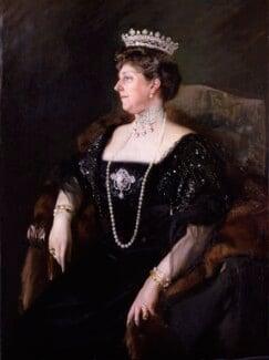 Princess Beatrice of Battenberg, by Joaquin Sorolla y Bastida, 1908 - NPG 5166 - © National Portrait Gallery, London