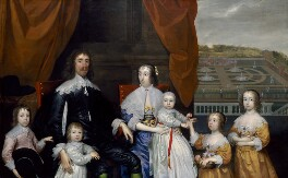 The Capel Family, by Cornelius Johnson (Cornelius Janssen van Ceulen) - NPG 4759