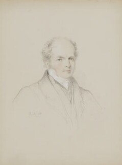 Sir Francis Beaufort, by William Brockedon, 1838 - NPG 2515(90) - © National Portrait Gallery, London