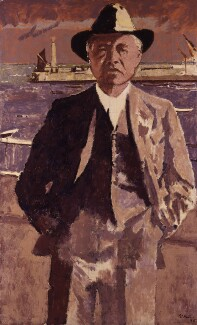 William Maxwell Aitken, 1st Baron Beaverbrook, by Walter Richard Sickert, based on a photograph by  Unknown photographer, 1935 - NPG 5173 - © National Portrait Gallery, London