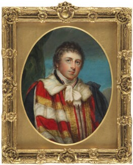 Francis Russell, 5th Duke of Bedford, by William Grimaldi, after  John Hoppner, early 19th century, based on a work of 1796-1797 - NPG 6296 - © National Portrait Gallery, London