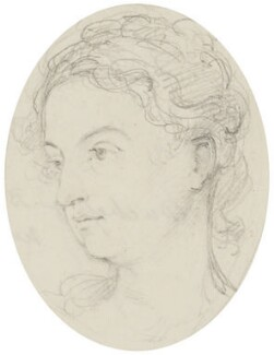 Georgiana Russell (née Gordon), Duchess of Bedford, by Sir George Hayter - NPG 883(4)