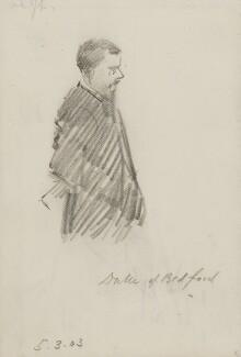 Herbrand Arthur Russell, 11th Duke of Bedford, by Sydney Prior Hall - NPG 2337