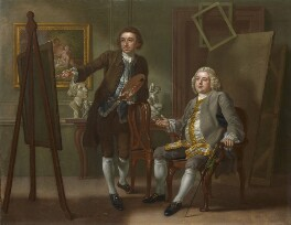 Francis Hayman; Grosvenor Bedford, by Francis Hayman - NPG 217