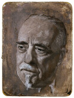Sir Thomas Beecham, 2nd Bt, by Gordon Stuart - NPG L106