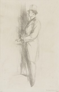 Sir Max Beerbohm, by Charles Haslewood Shannon, 1896 - NPG 4330 - © National Portrait Gallery, London