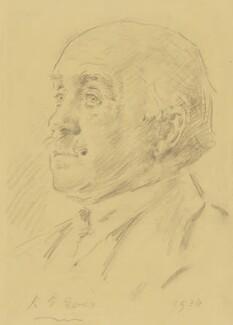 Sir Max Beerbohm, by Reginald Grenville Eves, 1936 - NPG 4000 - © National Portrait Gallery, London