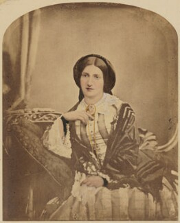 Isabella Beeton (Mrs Beeton), by Maull & Polyblank, 1857 - NPG  - © National Portrait Gallery, London