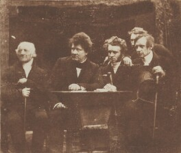 Study for...the first General Assembly of the Free Church, by David Octavius Hill, and  Robert Adamson - NPG P6(105)